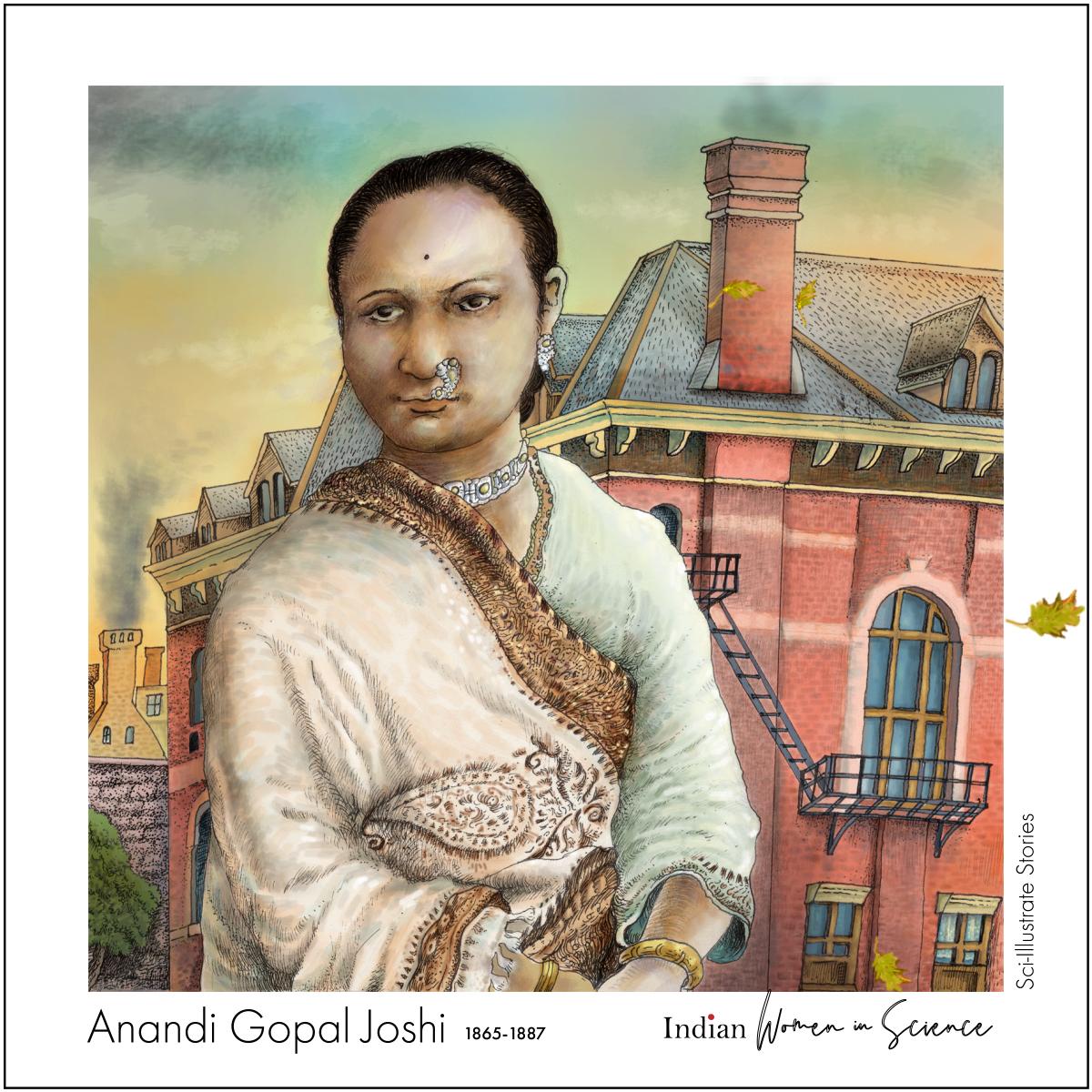Anandi Gopal_Sci-Illustrate Stories iWIS